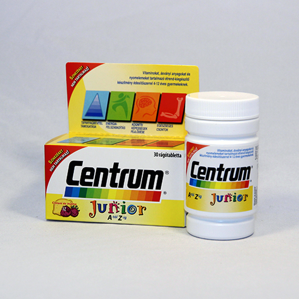 Centrum Junior A-tol Z-ig ragotabletta 30 db