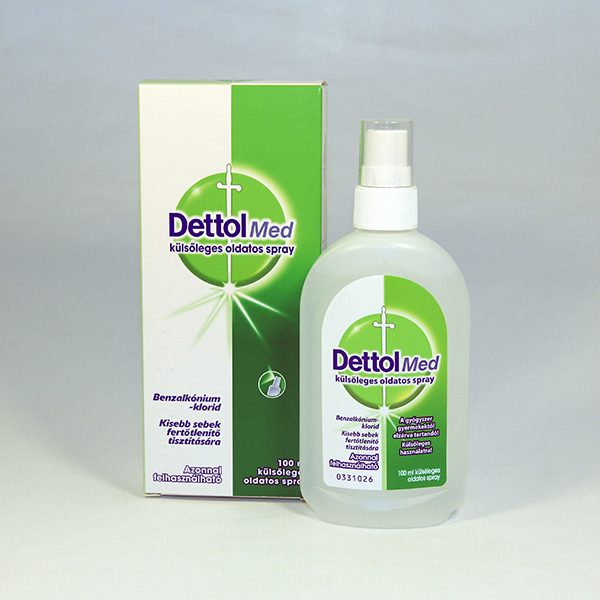 Dettol Med kulsoleges oldatos spray 100 g